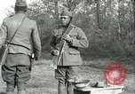 Image of African American soldiers  France, 1918, second 12 stock footage video 65675065324