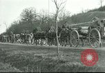 Image of U.S. 6th Field Artillery Lorraine France, 1918, second 3 stock footage video 65675065328