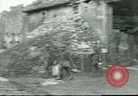 Image of city ruins Seicheprey France, 1918, second 16 stock footage video 65675065331