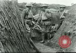Image of Field mess in trench France, 1918, second 3 stock footage video 65675065337