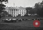 Image of Woodrow Wilson Washington DC USA, 1918, second 3 stock footage video 65675065338