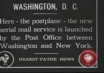 Image of Woodrow Wilson Washington DC USA, 1918, second 1 stock footage video 65675065340