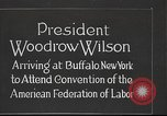 Image of Woodrow Wilson Buffalo New York USA, 1918, second 1 stock footage video 65675065341