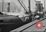 Image of iron ore being shipped Italy, 1916, second 2 stock footage video 65675065345