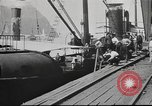 Image of iron ore being shipped Italy, 1916, second 4 stock footage video 65675065345