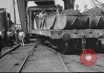 Image of iron ore being shipped Italy, 1916, second 5 stock footage video 65675065345