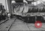 Image of iron ore being shipped Italy, 1916, second 7 stock footage video 65675065345
