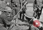 Image of French instructors train American soldiers   France, 1917, second 10 stock footage video 65675065357