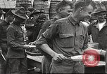 Image of AEF soldiers in mess line United States USA, 1917, second 1 stock footage video 65675065358