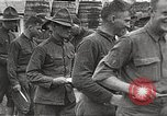 Image of AEF soldiers in mess line United States USA, 1917, second 3 stock footage video 65675065358