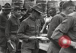 Image of AEF soldiers in mess line United States USA, 1917, second 4 stock footage video 65675065358