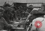 Image of AEF soldiers in mess line United States USA, 1917, second 6 stock footage video 65675065358