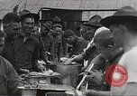 Image of AEF soldiers in mess line United States USA, 1917, second 7 stock footage video 65675065358