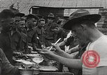 Image of AEF soldiers in mess line United States USA, 1917, second 8 stock footage video 65675065358