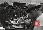 Image of AEF soldiers in mess line United States USA, 1917, second 9 stock footage video 65675065358