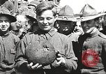 Image of AEF soldiers in mess line United States USA, 1917, second 10 stock footage video 65675065358