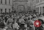 Image of U.S. Army soldiers deploying in France France, 1918, second 12 stock footage video 65675065360