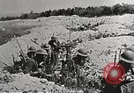 Image of American soldiers in combat in France Europe, 1918, second 4 stock footage video 65675065361