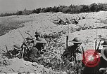 Image of American soldiers in combat in France Europe, 1918, second 5 stock footage video 65675065361