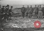 Image of U.S. and French troops celebrate World War 1 armistice France, 1918, second 8 stock footage video 65675065364