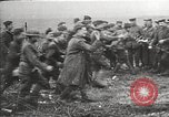 Image of U.S. and French troops celebrate World War 1 armistice France, 1918, second 9 stock footage video 65675065364
