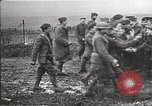 Image of U.S. and French troops celebrate World War 1 armistice France, 1918, second 10 stock footage video 65675065364