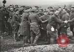 Image of U.S. and French troops celebrate World War 1 armistice France, 1918, second 12 stock footage video 65675065364