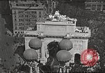 Image of Aerial views of World War I victory parade New York City USA, 1919, second 1 stock footage video 65675065368
