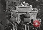 Image of Aerial views of World War I victory parade New York City USA, 1919, second 3 stock footage video 65675065368
