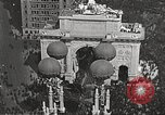 Image of Aerial views of World War I victory parade New York City USA, 1919, second 4 stock footage video 65675065368
