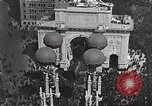 Image of Aerial views of World War I victory parade New York City USA, 1919, second 5 stock footage video 65675065368