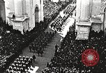Image of Aerial views of World War I victory parade New York City USA, 1919, second 8 stock footage video 65675065368