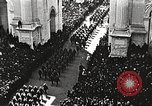 Image of Aerial views of World War I victory parade New York City USA, 1919, second 9 stock footage video 65675065368