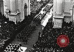 Image of Aerial views of World War I victory parade New York City USA, 1919, second 10 stock footage video 65675065368