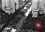 Image of Aerial views of World War I victory parade New York City USA, 1919, second 11 stock footage video 65675065368