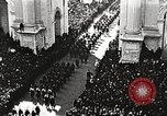 Image of Aerial views of World War I victory parade New York City USA, 1919, second 12 stock footage video 65675065368