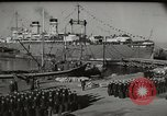 Image of military troops Rome Italy, 1948, second 2 stock footage video 65675065371