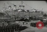 Image of military troops Rome Italy, 1948, second 5 stock footage video 65675065371