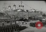 Image of military troops Rome Italy, 1948, second 8 stock footage video 65675065371