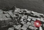 Image of shipment of food Athens Greece, 1948, second 4 stock footage video 65675065375