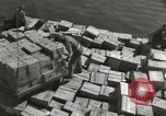 Image of shipment of food Athens Greece, 1948, second 6 stock footage video 65675065375