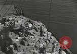 Image of shipment of food Athens Greece, 1948, second 8 stock footage video 65675065375