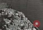 Image of shipment of food Athens Greece, 1948, second 9 stock footage video 65675065375
