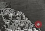 Image of shipment of food Athens Greece, 1948, second 10 stock footage video 65675065375