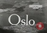 Image of aerial view Oslo Norway, 1946, second 1 stock footage video 65675065377