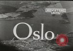 Image of aerial view Oslo Norway, 1946, second 2 stock footage video 65675065377