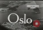 Image of aerial view Oslo Norway, 1946, second 3 stock footage video 65675065377