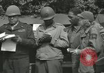 Image of Benjamin O Davis Rennes France, 1944, second 11 stock footage video 65675065387