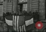 Image of infantry and tanks Mayenne France, 1944, second 4 stock footage video 65675065388