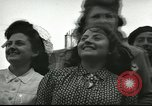 Image of infantry and tanks Mayenne France, 1944, second 7 stock footage video 65675065388